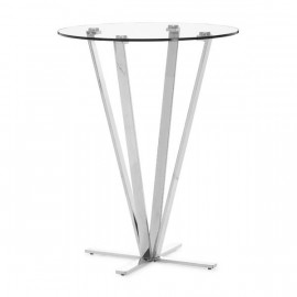 Mimosa Bar Table Stainless Steel