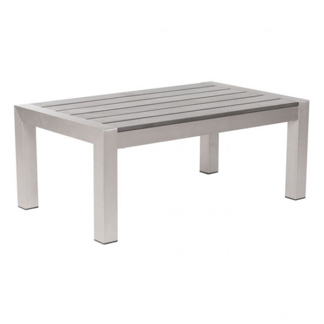 Cosmopolitan Coffee Table B. Aluminum