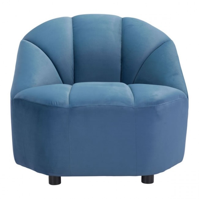 Paramount Accent Chair Dark Blue