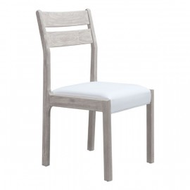 Beaumont Dining Chair Sun Drenched Acacia & White