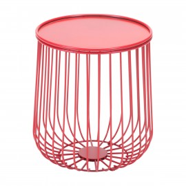 Gilbert Side Table Red