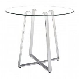 Lemon Drop Counter Table Tempered Glass