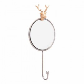 Antler Mirror Antique