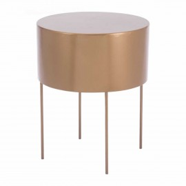 Bor End Table Gold