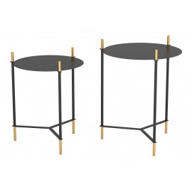 Austin Set Of 2 Round End Tables
