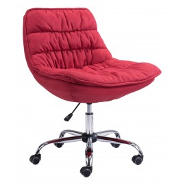 Down Low Office Chair Red